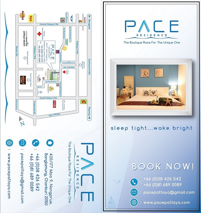 Pace Residence   New Rooms for Monthly Rent @ Soi Buakhaow