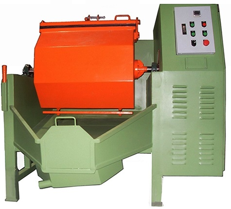 Rotary Barrel Finishing Machine  T.02-9065791-2