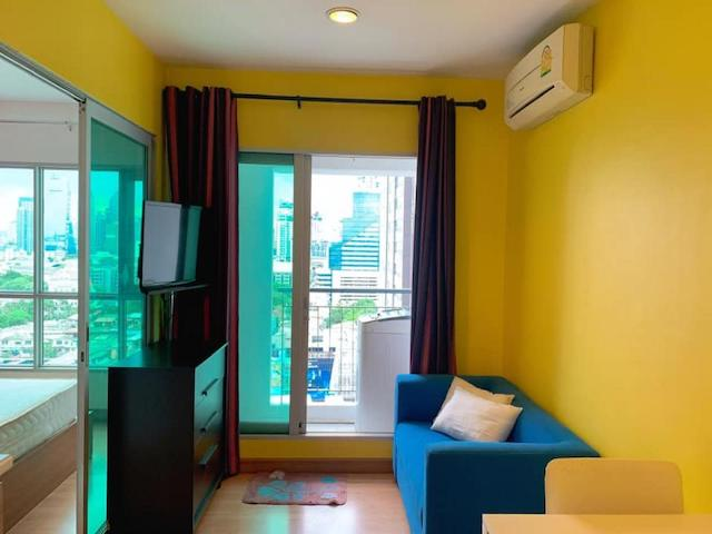 Condo for rent Aspire Rama 4 1 Bed 1 Baths  Floor 16 28 Sqm.,condo near BTS Ekamai