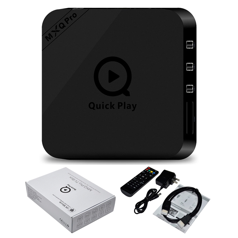 ขาย กล่องแอนดรอย Android Box รุ่น MXQ PRO Android 5.1 Lollipop Amlogic S905 Quad Core 1GB/8GB 64Bit